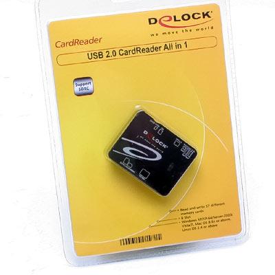 Cardreader extern Allin1 USB2.0 SDHC