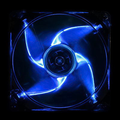 LÜfter 120mm Cooltek Silent Fan Blue LED