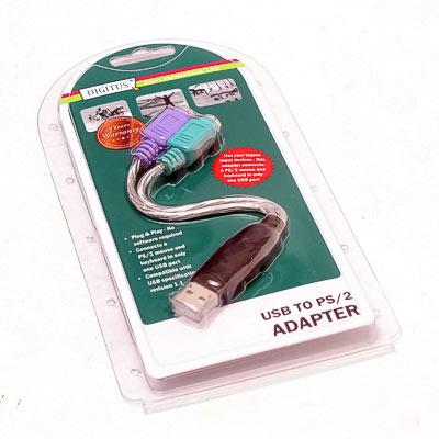 USB Adapter USB-PS2 Tastatur und Maus
