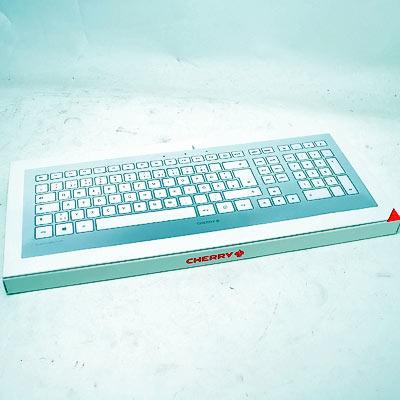 Tastatur Cherry Strait 3.0 weis/silber