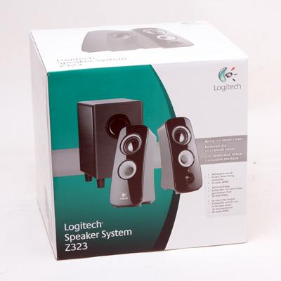 Soundsystem Logitech Z-323    2.1 Stereo