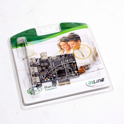Fire Wire Steckkarte FireWire 400 PCIe