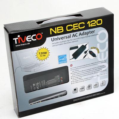 Netzteil Notebook 120W Universal 15-20V