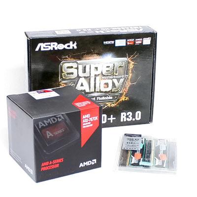 Aufrüstkit AMD3 Mainboard/4x4,10Ghz/8GB