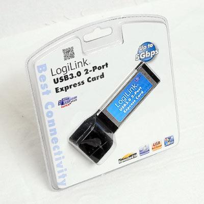 ExpressCard USB3.0 2fach