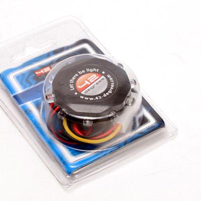 LED Ring mit 10 LEDs rot