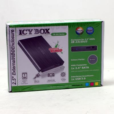 HDD Zub.Gehäuse 6,35cm SATA ICYBOX IB231