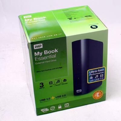 HDD ext.8,89cm 3TB WD MyBook USB3.0