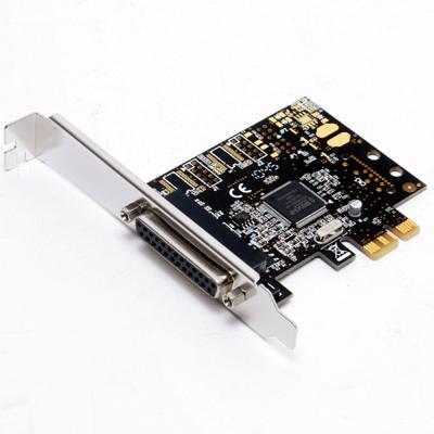 I/O Card 1x Parallel 25Pol PCIe 1x