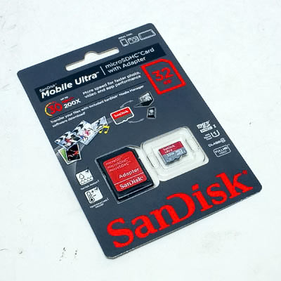 SD-Micro Card 32GB Marke Cl.10