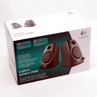 Soundsystem Logitech Z-130    2.0 Stereo