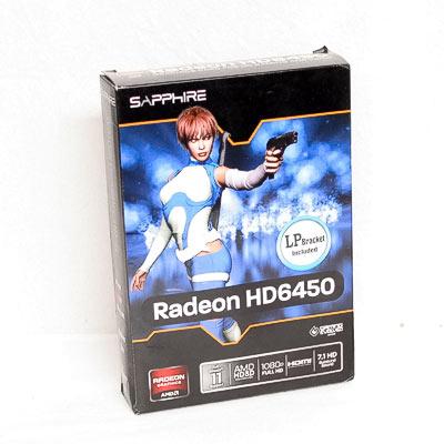 Grafik PCIe AMD 6450 1GB Sapphire