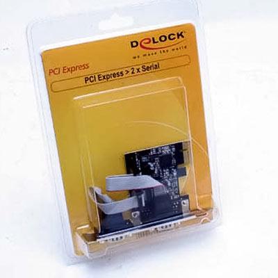 I/O Card 2x Seriell   9Pol PCIe