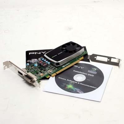 Grafik PCIe NVIDIA Quadro K600 1GB PNY