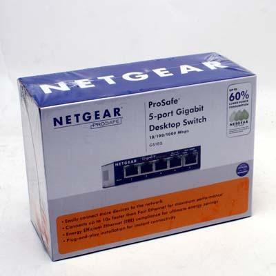 Netzwerk Switch 5Port 1000MBit NetgearPS