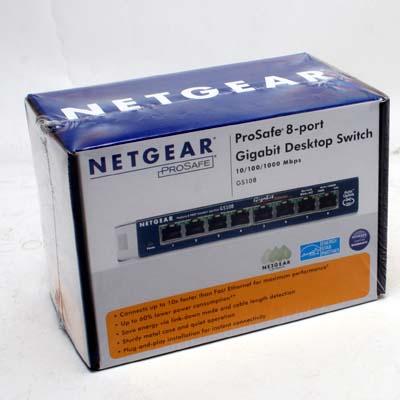Netzwerk Switch 8Port 1000MBit NetgearPS