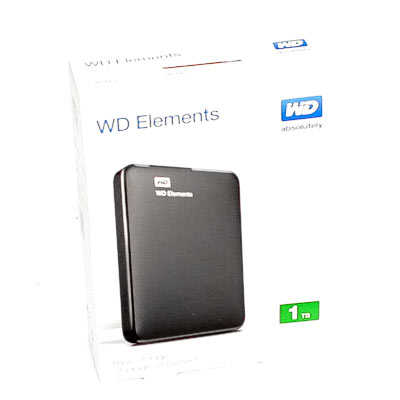 HDD ext.6,35cm 1TB WD Elements Port.USB3