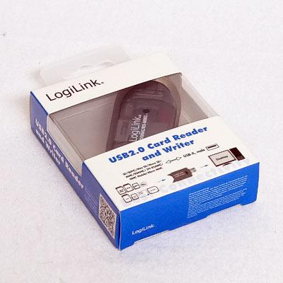 Cardreader Stick Logilink USB2.0 SD Card