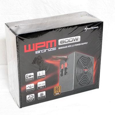 Netzteil 600W ATX Sharkoon WPM600