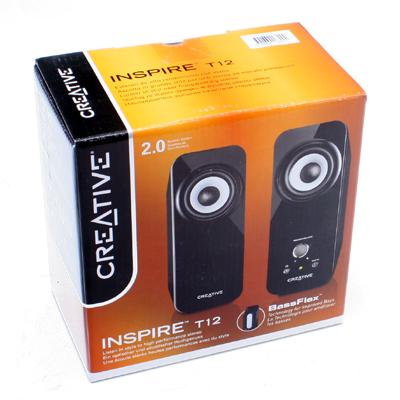 Soundsystem Creative Inspire T12 2.0
