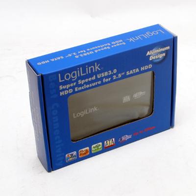 HDD Zub.Gehäuse 6,35cm SATA Marke   USB3