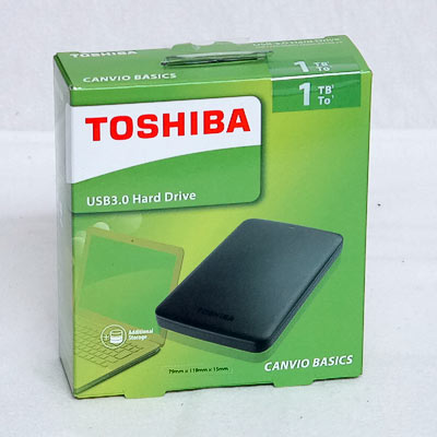HDD ext.6,35cm 1TB Toshiba USB3.0