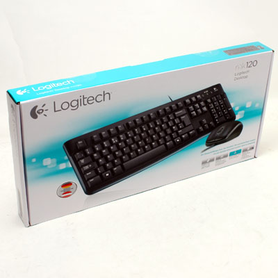 Tastatur+Mouse Set Logitech MK120 USB