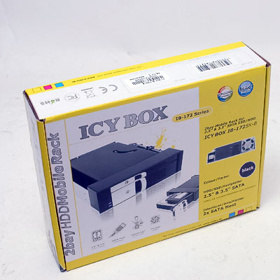 HDD Wechselrahmen IcyBox IB-172SK