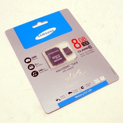 SD-Micro Card  8GB Marke Cl.10
