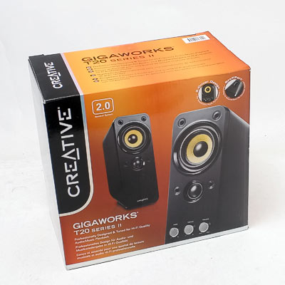 Soundsystem Creative GIGAWORKS T20II 2.0