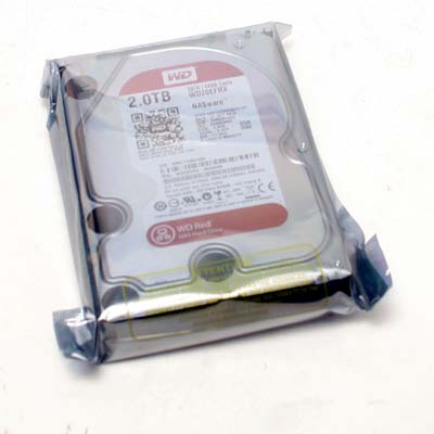 "HDD 3,5"" SATA 2,0TB WD20EFRX RED NAS"