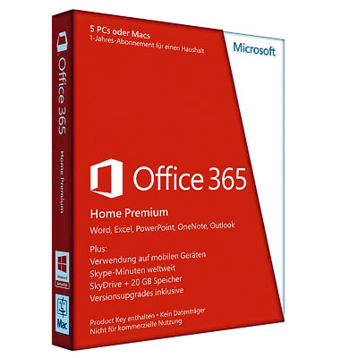 Software MS Office 365 Home Premium