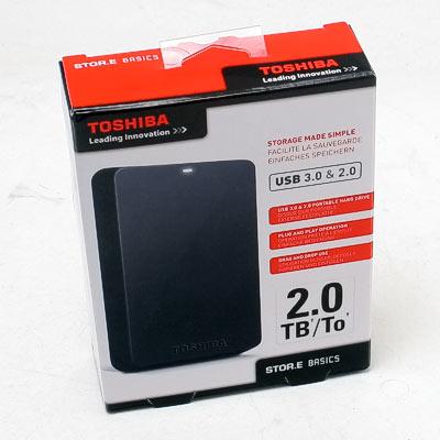 HDD ext.6,35cm 2TB Toshiba USB3.0