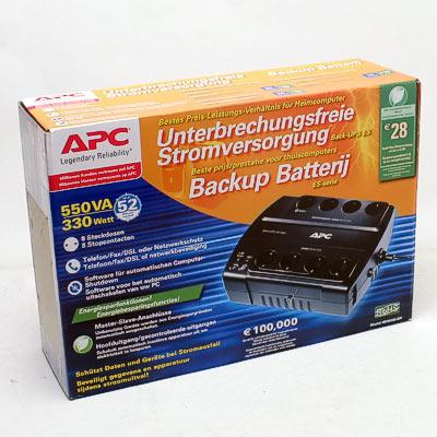 USV APC Back UPS ES 550VA BE550G-GR 330W