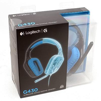 Headset Logitech G430 Gaming 7.1 Dolby