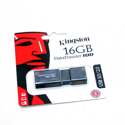USB 3.0 Stick 16GB Kingston DT100 G3