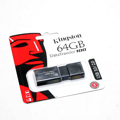 USB 3.0 Stick 64GB Kingston DT100 G3