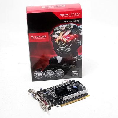 Grafik PCIe AMD R7 240  2GB Sapphire GD3