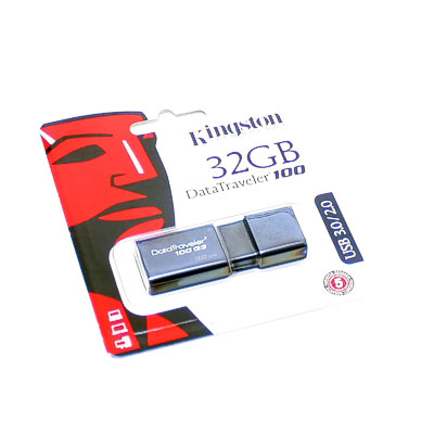 USB 3.0 Stick 32GB Kingston DT100 G3