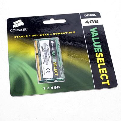 Speicher SODIMM DDR3 4GB PC1600 Corsair