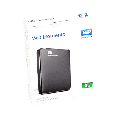 HDD ext.6,35cm 2TB WD Elements Port.USB3