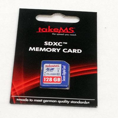 SD Card 128GB Marke CLass10