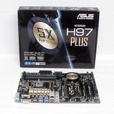 Mainboard 1150 ASUS H97-Plus        DDR3