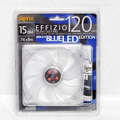 LÜfter 120mm SilenX Effizio blue LED