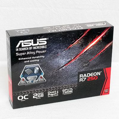 Grafik PCIe AMD R7 250  2GB ASUS OC