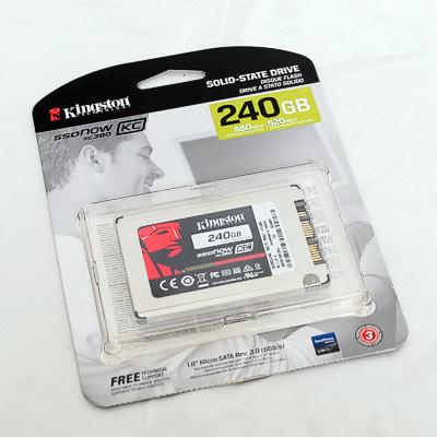 """SSD 1,8"""" SATA 240GB Kingston KC380"""