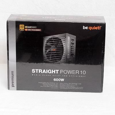 Netzteil 600W ATX BeQuiet Straight E10CM