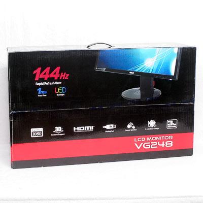 "Monitor LED 24"" ASUS VG248QE 144Hz 3D"