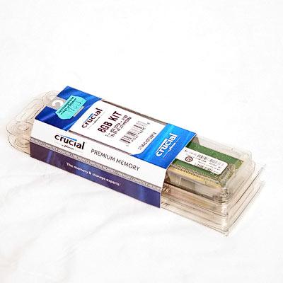 Speicher DDR4  8GB 2133/15 Kit Crucial