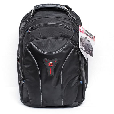 "Notebookrucksack 17,0"" Swissgear CARBON"